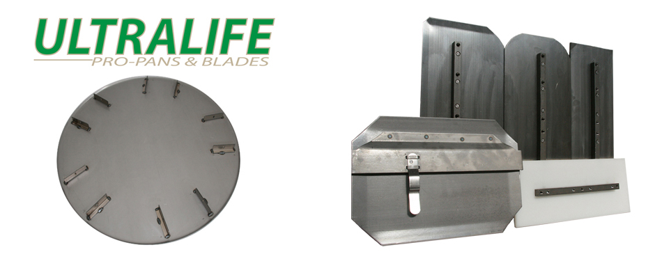 We offer a variety of Float pans & Blades to fit most leading makes
